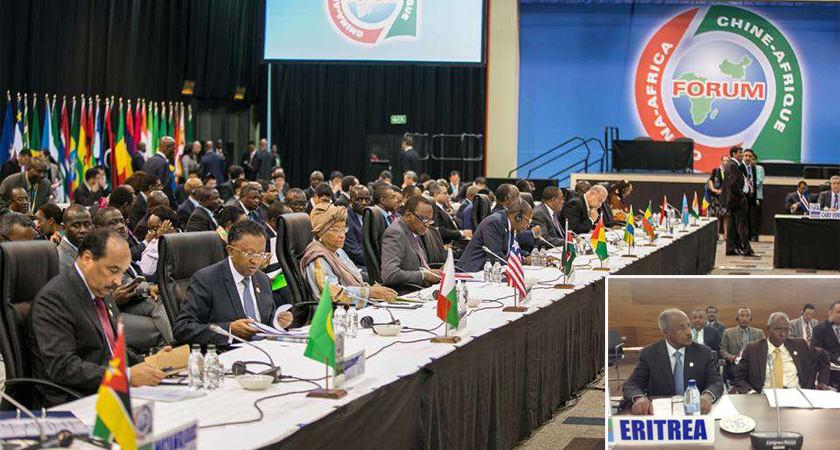 Eritrea's Foreign Minister Participates at the Second FOCAC Summit in Johannesburg