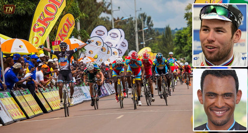 Eritrean Mekseb Debesay and  Mark Cavendish Teammates in the World Tour