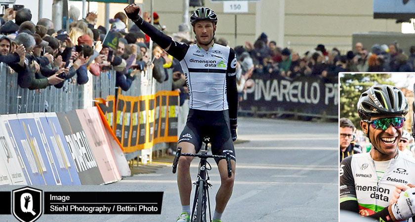 Tirreno-Adriatico #4: Steve Cummings 1st, Natnael Berhane 3rd