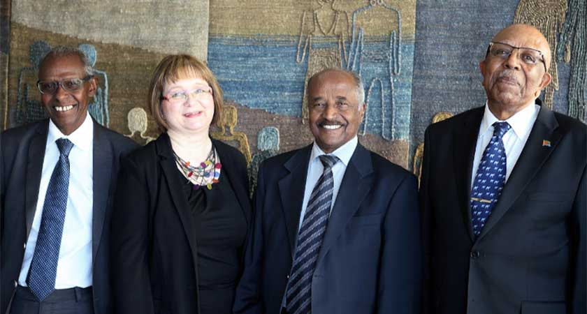 Foreign Ministers of Finland and Eritrea Meet in Helsinki