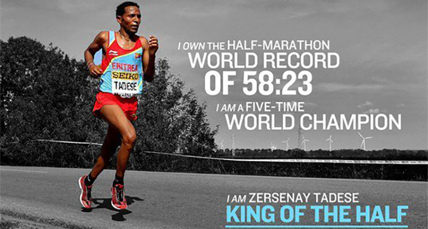 World Record-Holder Zersenay Tadese to Face Off Patrick Komon in Istanbul