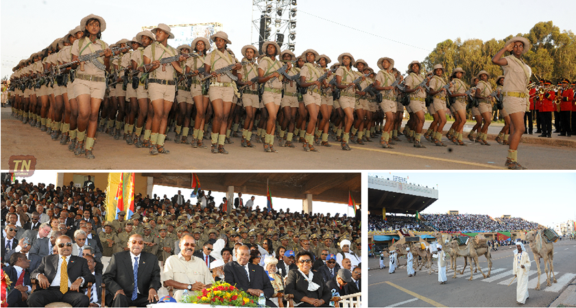 A Glimpse to the Official Silver Jubilee Eritrea Independence Day Ceremony