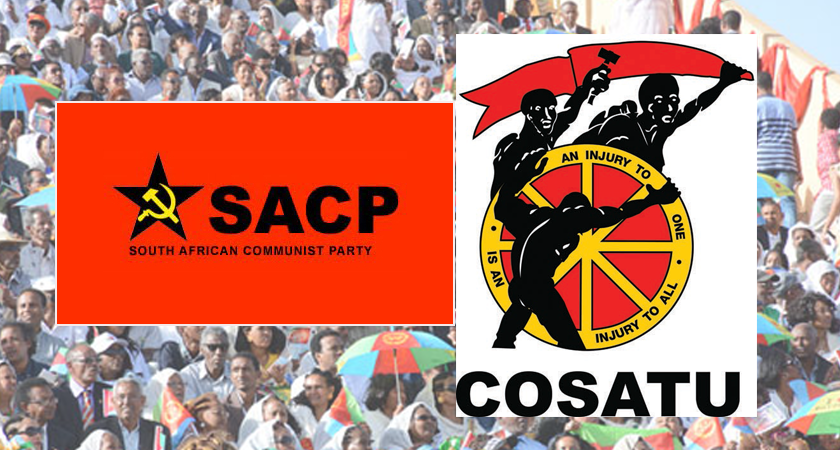 Joint SACP-COSATU Statement on the 25th Eritrean National Independence Day