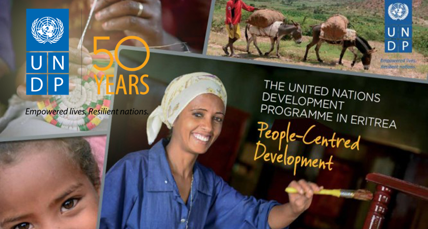 Eritrea Honors UNDP's 50th Anniversary