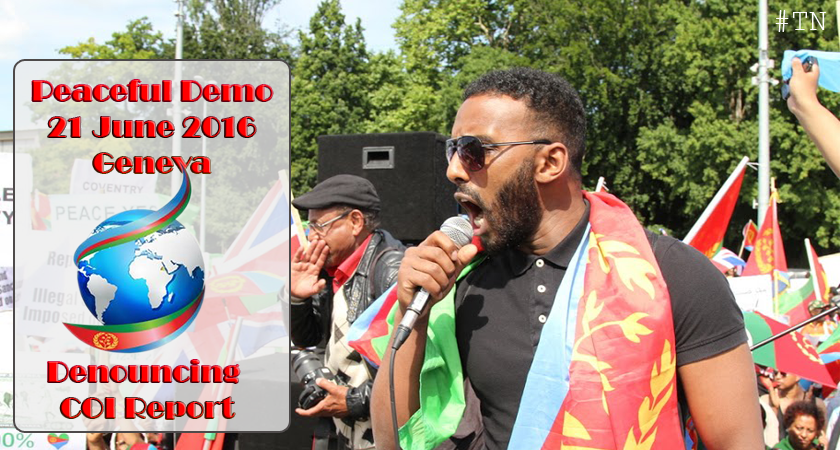 Mass Demo in Geneva – Denouncing COI Report