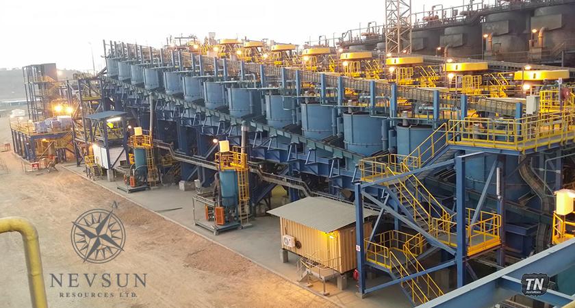 Nevsun Completes the Zinc Flotation Plant and Commences Ore Commissioning