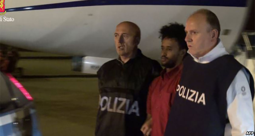 Suspected People Smuggling Ringleader Extradited to Italy