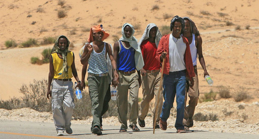 Yemenis Fleeing War and Ethiopians Escaping Drought Meet in Djibouti