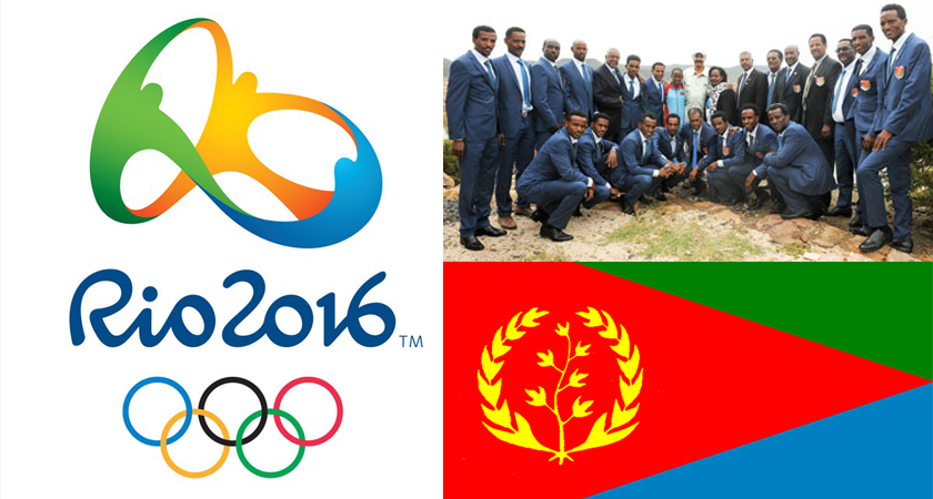 President Isaias Meets Rio Olympics-bound Athletes, Wishes Best of Luck