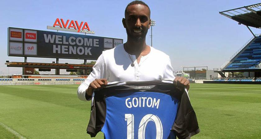 Henok Goitom to Debut in US Major League Soccer (MLS)