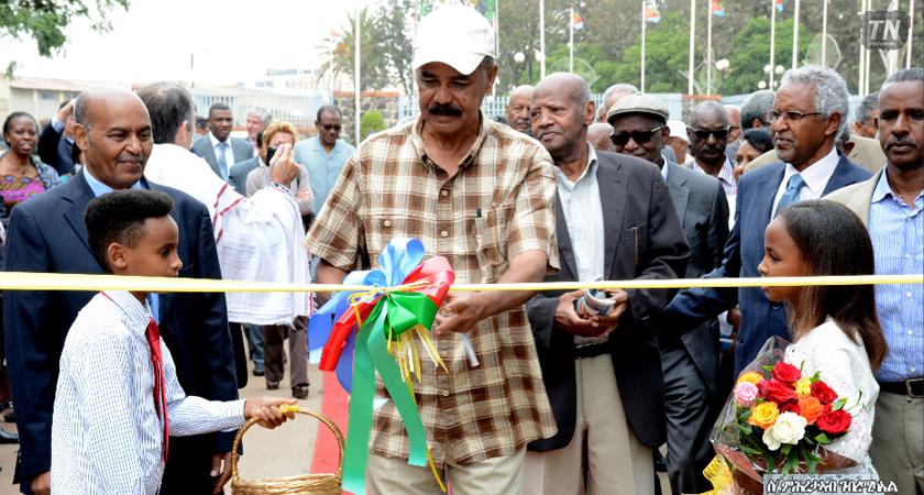 President Isaias Officially Opens Eritrean National Festival 2016