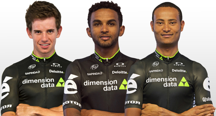 Metkel and Amanuel Joined Dimension Data WorldTour Squad