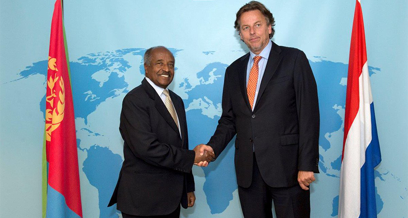 Eritrea and Netherlands Foreign Ministers Held Talks