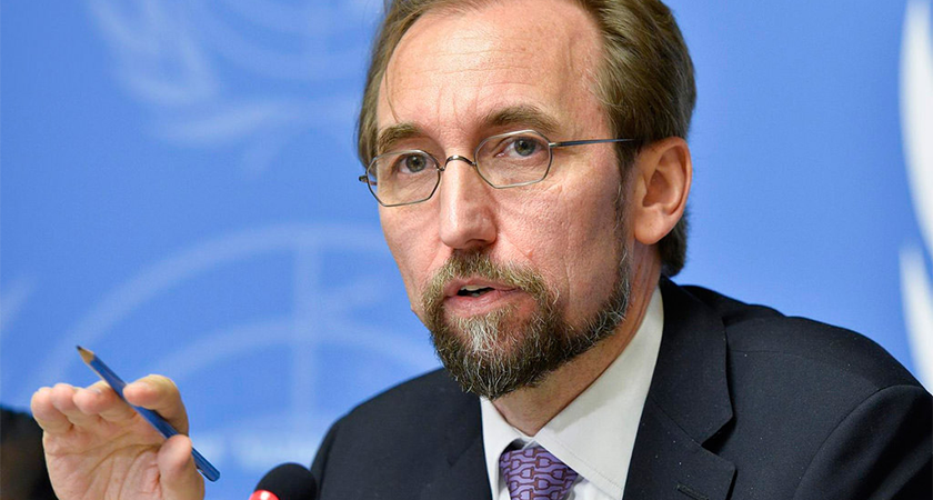 UN High Commissioner for Human Rights Zeid Ra'ad Al Hussein is making a follow-up visit to Ethiopia