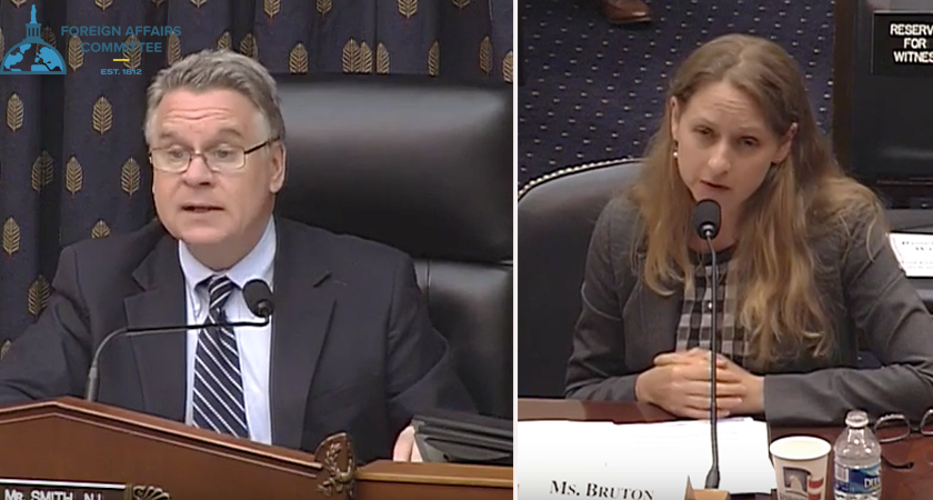 Testimony of Bronwyn Bruton at U.S. House Subcommittee Hearing on Eritrea