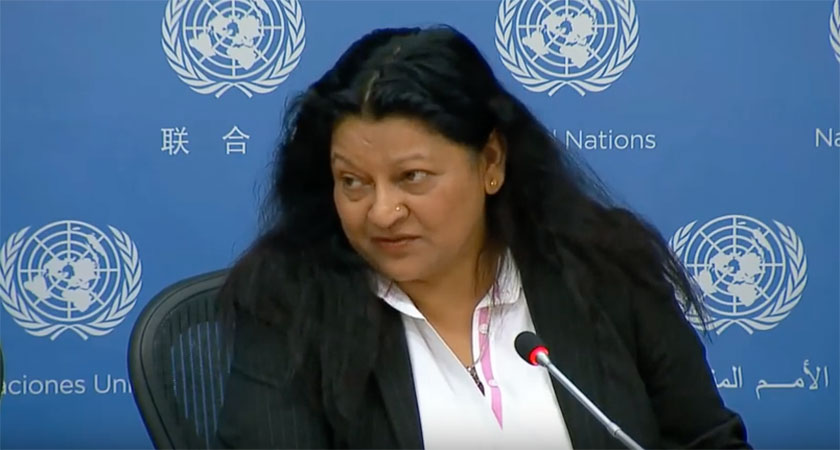 Quick Thoughts on Special Rapporteur Sheila Keetharuth Presentation to UN Assembly