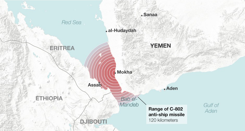 A New Danger Rises in the Red Sea