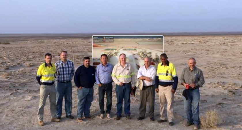 Shortlisted Engineering Companies Completed Colluli Site Visit