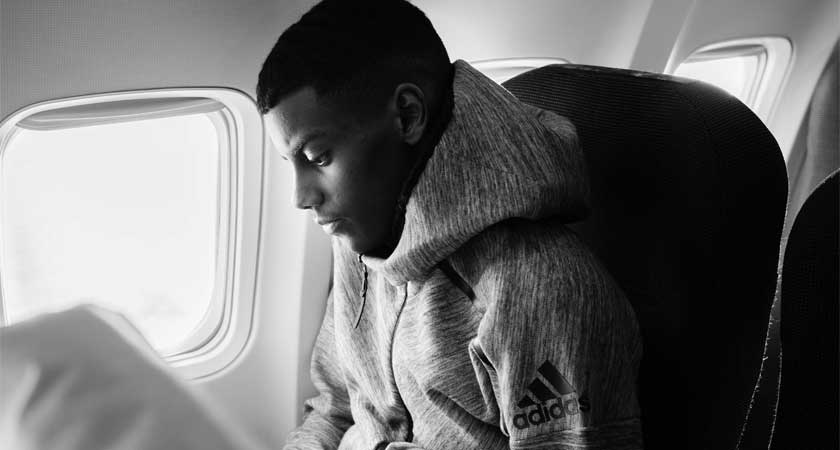 Swedish Eritrean Alexander Isak New Face for Adidas Campaign