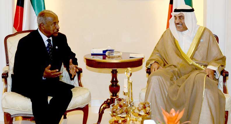 Kuwait and Eritrea Foreign Ministers Meet