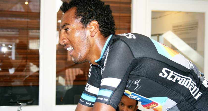 """I Want to Show My Talent"" – Eritrean Amanuel Mengis Takes on His 2nd Season With BIKE AID"