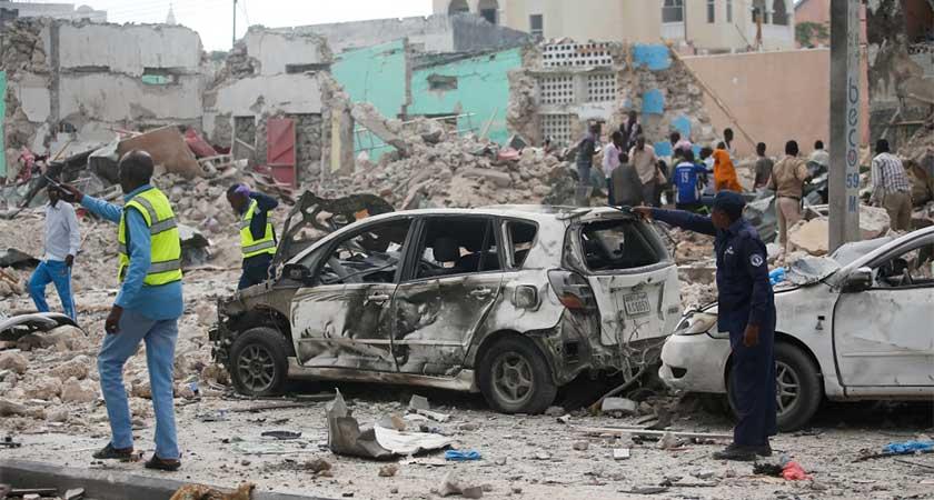 Al-Shabab's Dayax Hotel Attack in Mogadishu Kills 28