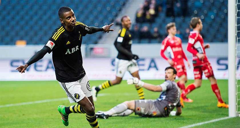 alexander isak Sweden's youngest goal scorer