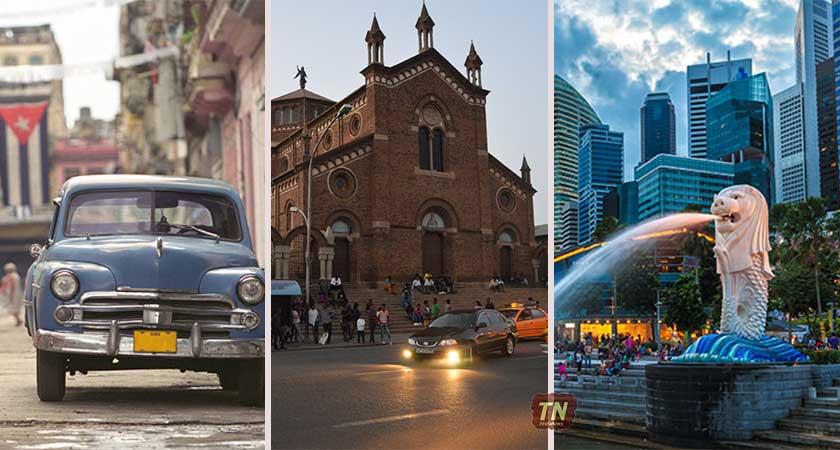 The Political and Economic Similarities of Singapore, Cuba and Eritrea