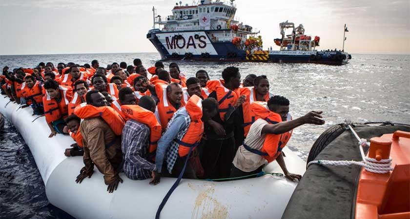 Fewer Migrants at EU Borders in 2016: Frontex