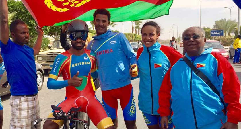 Meron Teshome Wins Gold at Elite Mens ITT Continental Championships