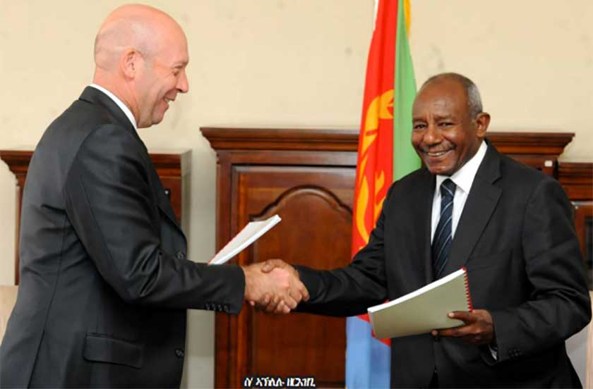Mining Agreement between Colluli mining share company and Eritrea