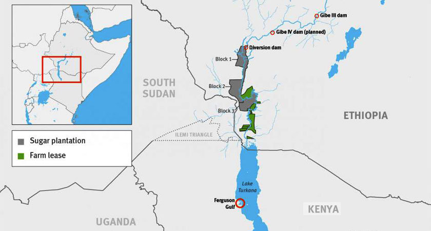 Ethiopian Dams, Plantations a Threat to Kenyans