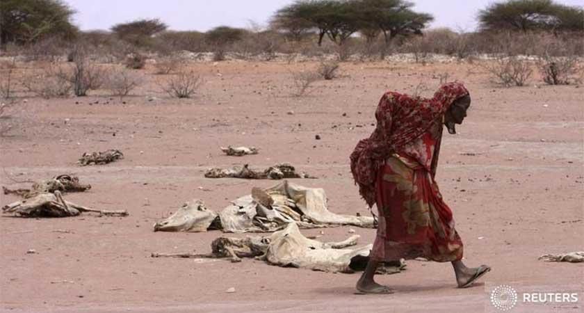 Kenya drought, President ask for help