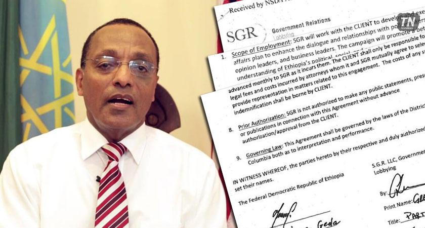 TPLF Hires U.S. Lobbying Firm SGR for US $1.8m