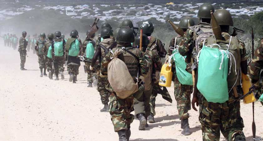 AMISOM Chief Francisco Caetano Madeira is seeking a surge in troops