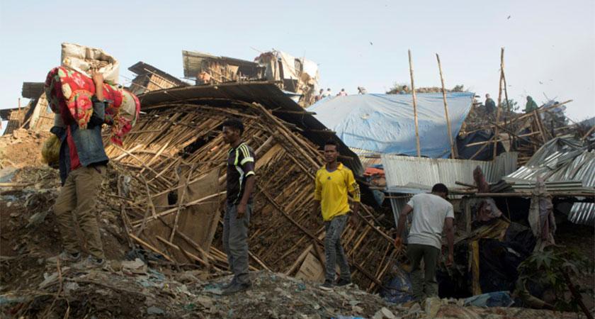 Addis Ababa Garbage Landslide Kills Over 48