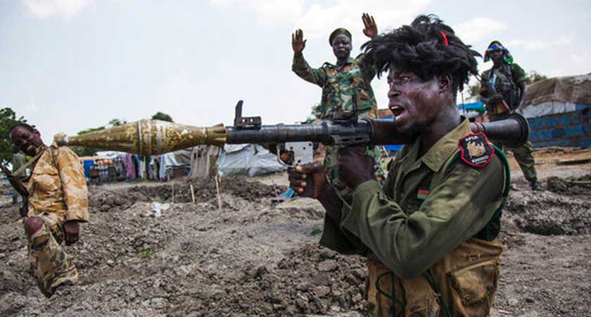 US Imposed Arms Embargo on South Sudan