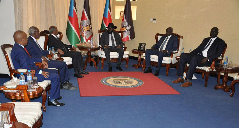 Eritrea Reiterates Solidarity with South Sudan