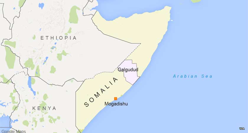 Al-Shabaab control the town of El-Bur in central Somalia after Ethiopia troops withdrawal