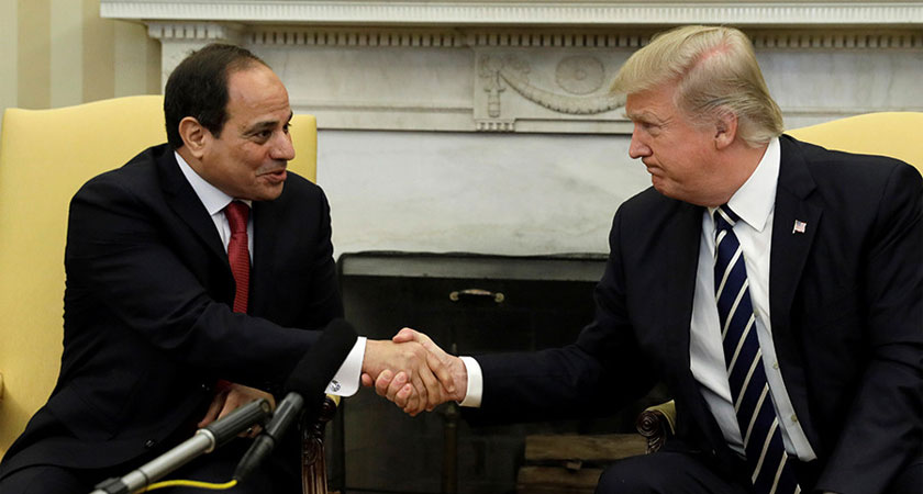 Trump Shifts Course on Egypt, Promise 'Strong Support' for Battling Terrorism