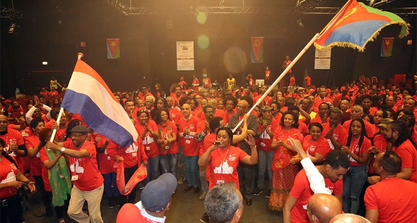 Young Dutch Eritrean heritage who gathered for YPFDJ Veldhoven conference told sacrosanct European values do not apply to them.