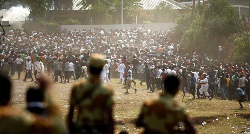 Ethiopia Issues Shoot-to-Kill Orders to Quell Protests