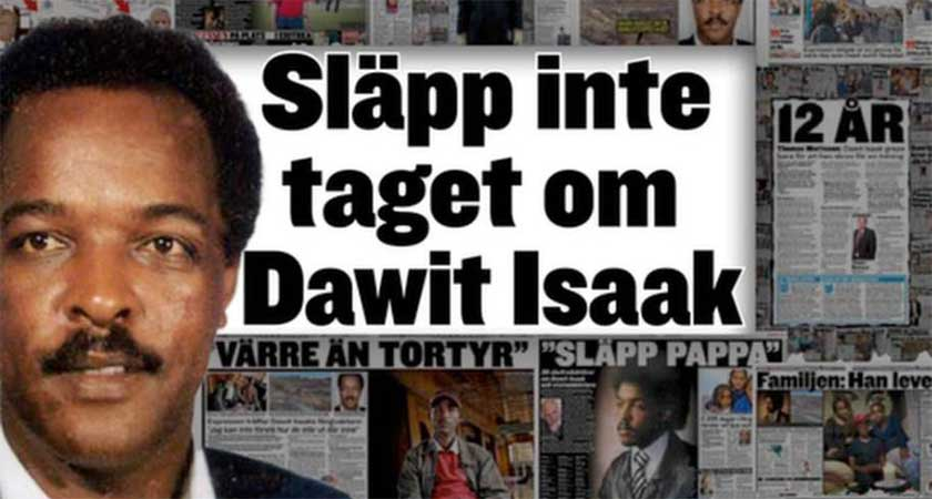 European Parliament passed a resolution calling for the release of Dawit Isaak.