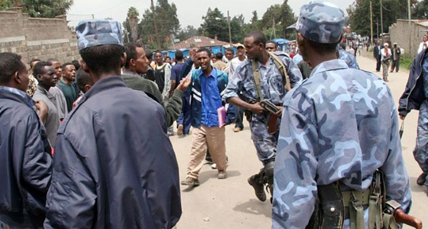 Weldiya town Epiphany clash killed seven civilians
