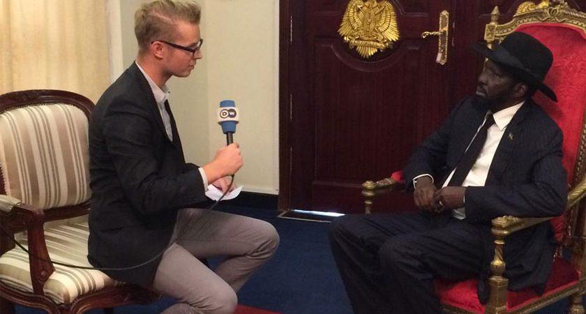 President Salva Kiir Downplays Refugee Crisis, Blames Social Media