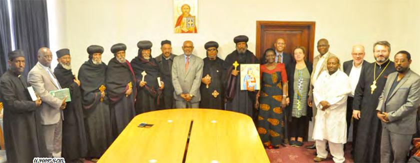 The World Council of Churches visiting Eritrea