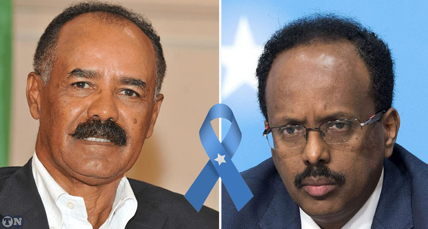 Eritrean President Sends Message of Condolence to Somali President