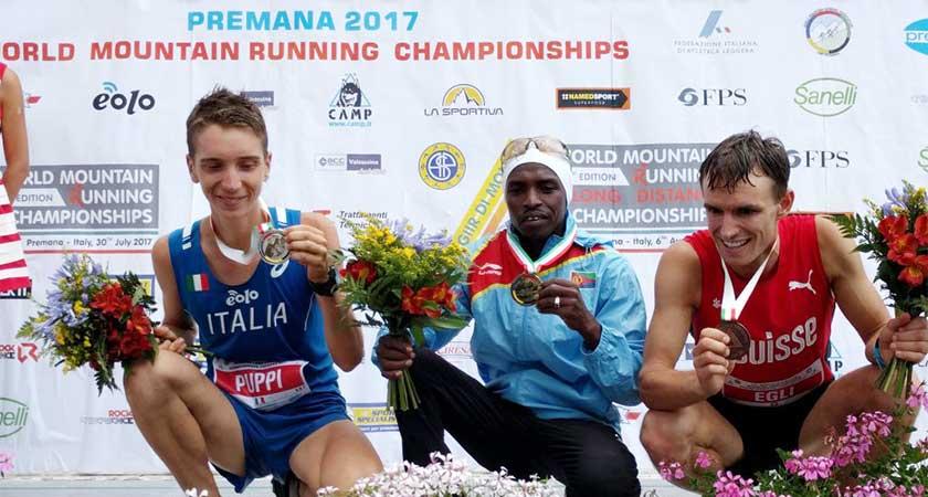 Petro Mamu, 2017 World Long Distance Mountain Running Champion