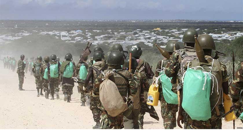 AMISOM Begins Troop Withdrawal from Somalia