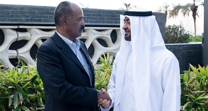 Mohamed bin Zayed Receives President of Eritrea